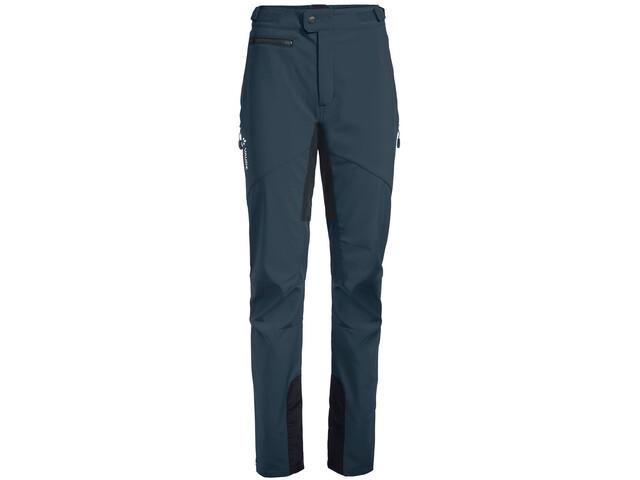 VAUDE Qimsa II Pantaloni Softshell Donna, steelblue